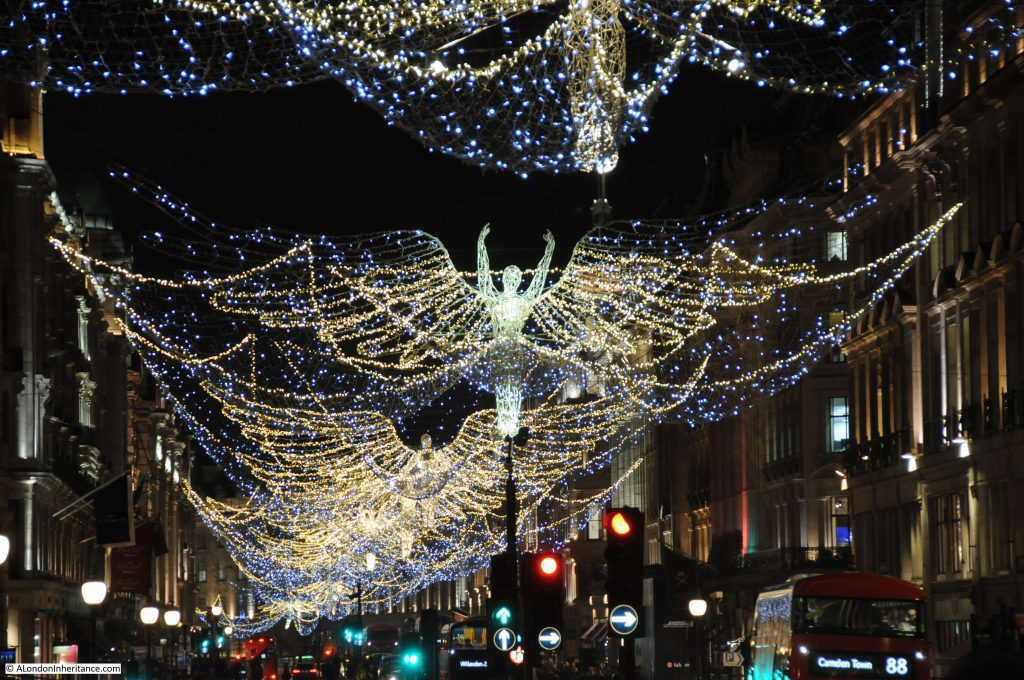 Luci Di Natale A Londra Angeli
