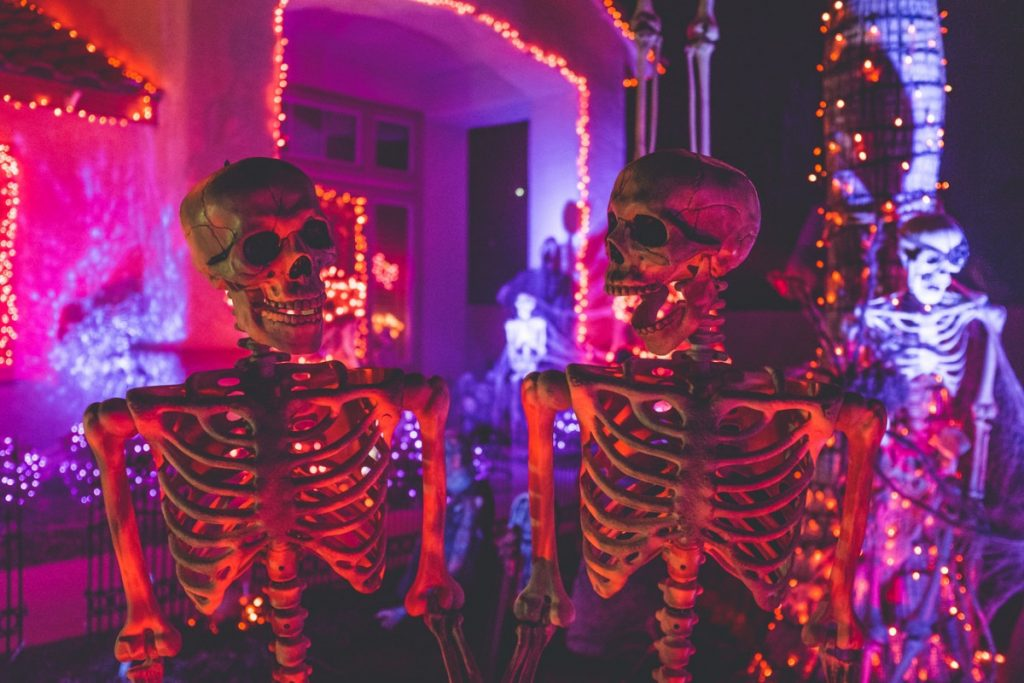 Halloween 2019 A Londra Scheletri