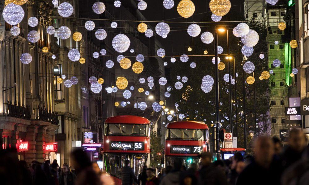 Luci Di Natale A Londra Copertina