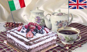 La Victoria Sponge - Servizio Da The con torta