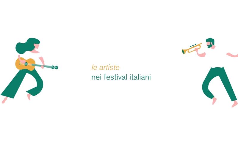 Talassa - logo con due persone con strumenti musicali