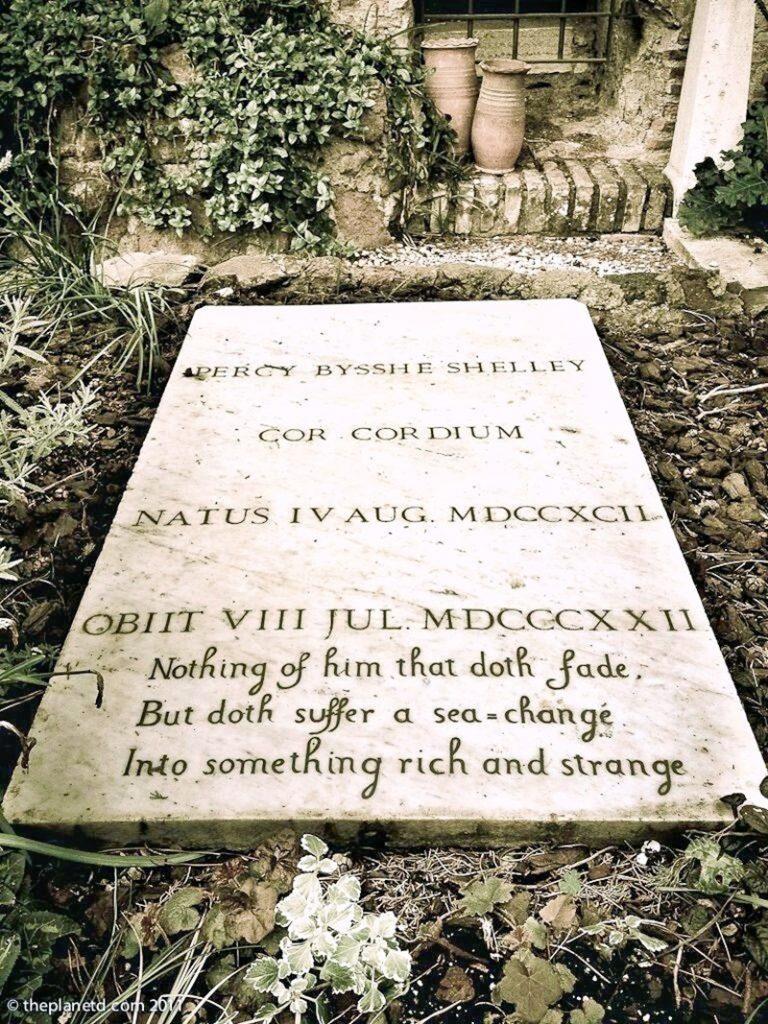 Shelley - Tomba del poeta