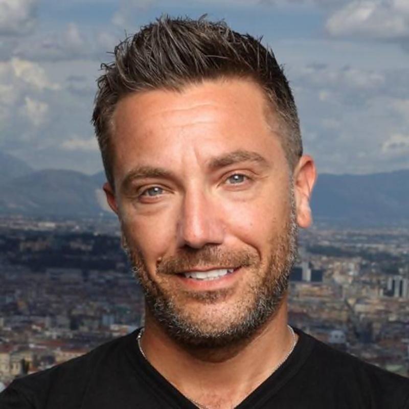 This morning - Gino lo chef della tv inglese