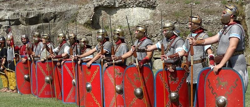 La Britannia - Esercito romano