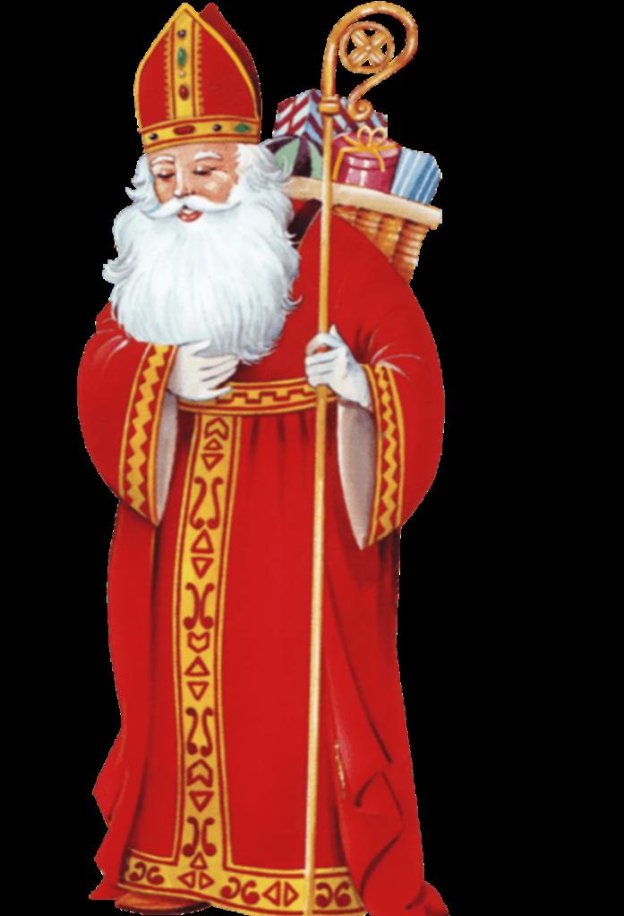 Santa Claus - Vescovo che porta i regali
