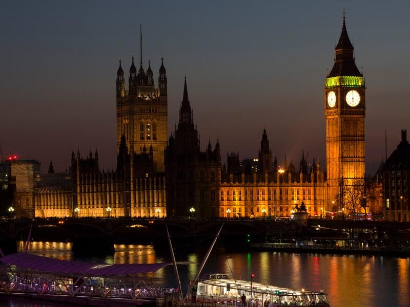 La Gran Bretagna -Il Parlamento Inglese ha sede a Londra, la capitale. Ph Pexel