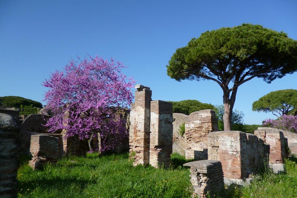 grand tour - Ostia Antica in primavera