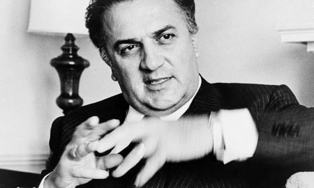 Federico Fellini, foto del regista