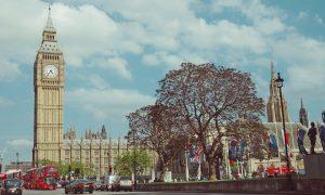 lockdown - Orologio simbolo britannico