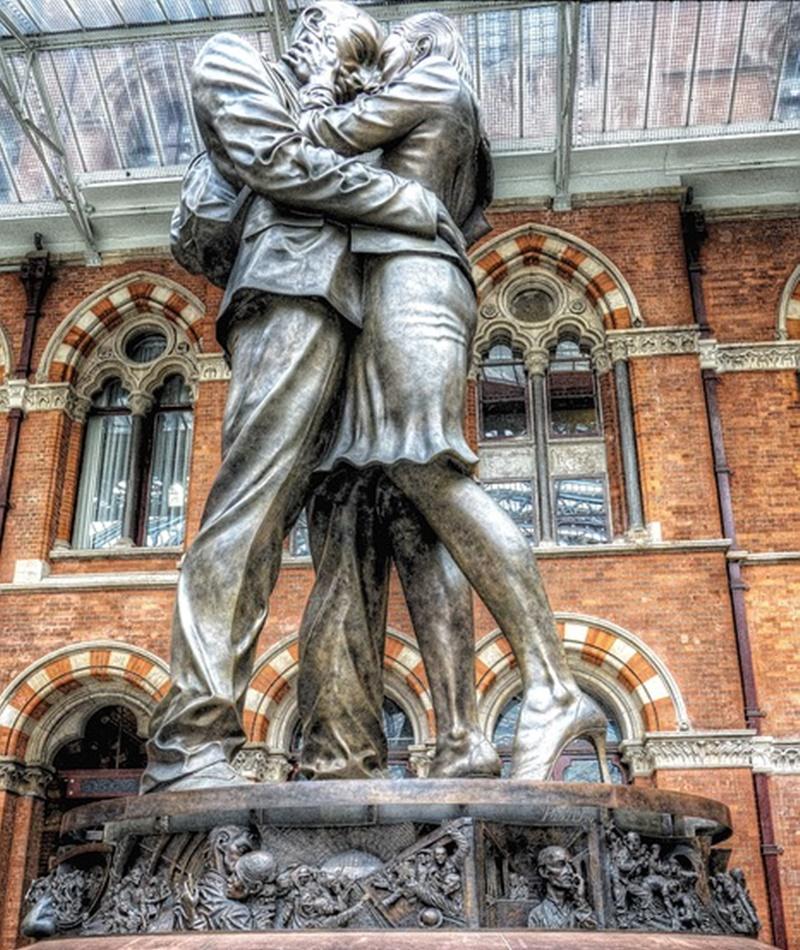 Roma Londra - Stazione di Londra