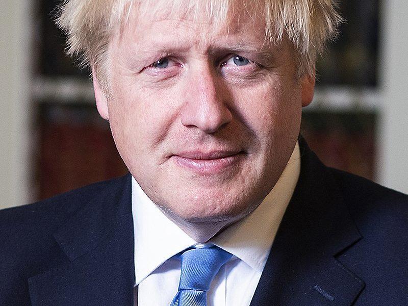 seconda fase-The Prime Minister Boris Johnson Portrait