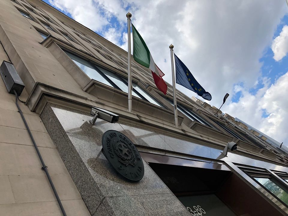 #ItalyRestArt - Consolato Italiano A Londra