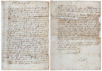 Lettera Di Galileo- manoscritto originale-credito Royal Society