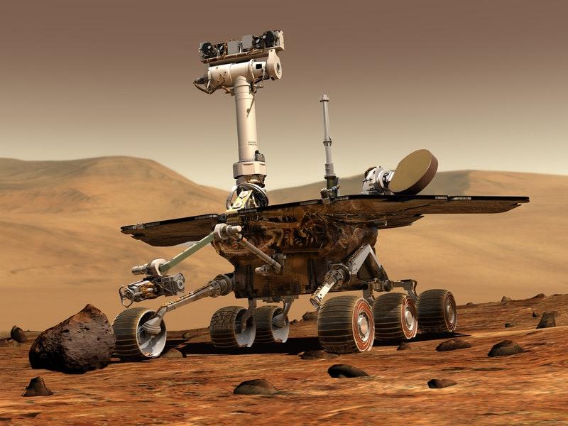 Spazio- Il rover curiosity su Marte