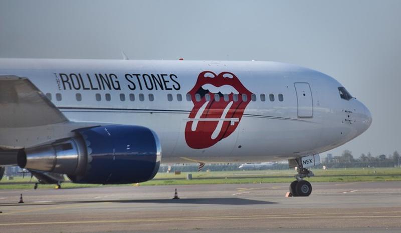 Aereo Dei Rolling Stones