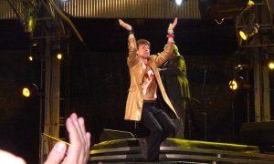 Mick Jagger a Castagneto Carducci - Jagger che canta