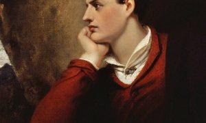 lord Byron - ritratto del poeta inglese