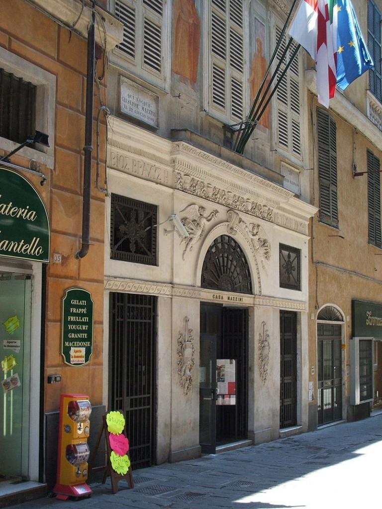 Giuseppe Mazzini - Casa Di Mazzini A Genova oggi museo