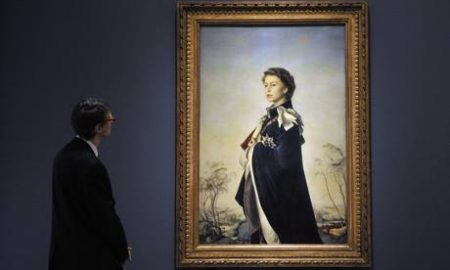 La Regina alla -Queen Art And Image Exhibit At The National Portrait Gallery