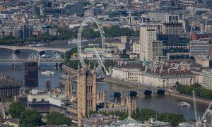 Coronavirus in UK - Londra vista Dall'alto