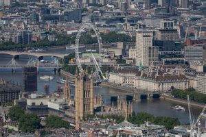 Coronavirus in UK - Londra vista Dall'alto