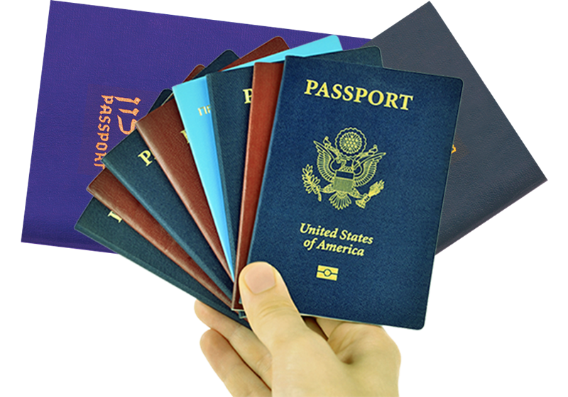 Visto e passaporto - Passaporti vari