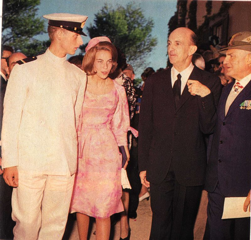 I Savoia cugini degli Windsor - Amedeo Di Savoia Aosta Con Umberto Ii Di Savoia in visita