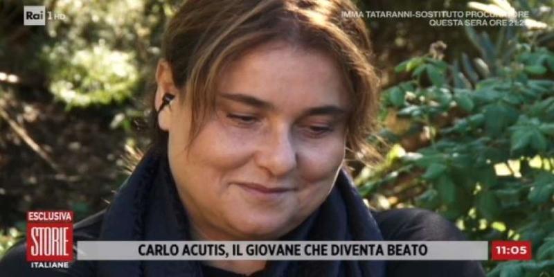 Antonia Sanzano la mamma di Carlo Acutis