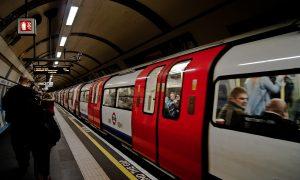 Metropolitana Londra Stazione Metro