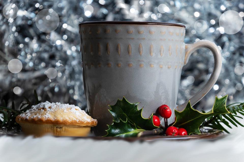 tazza bianca - Mince Pie caldo