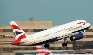 Rientro italiani da Londra - Aeroporto britannico