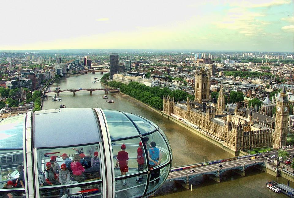 Variante del #Covid-19 - Londra in una foto panoramica