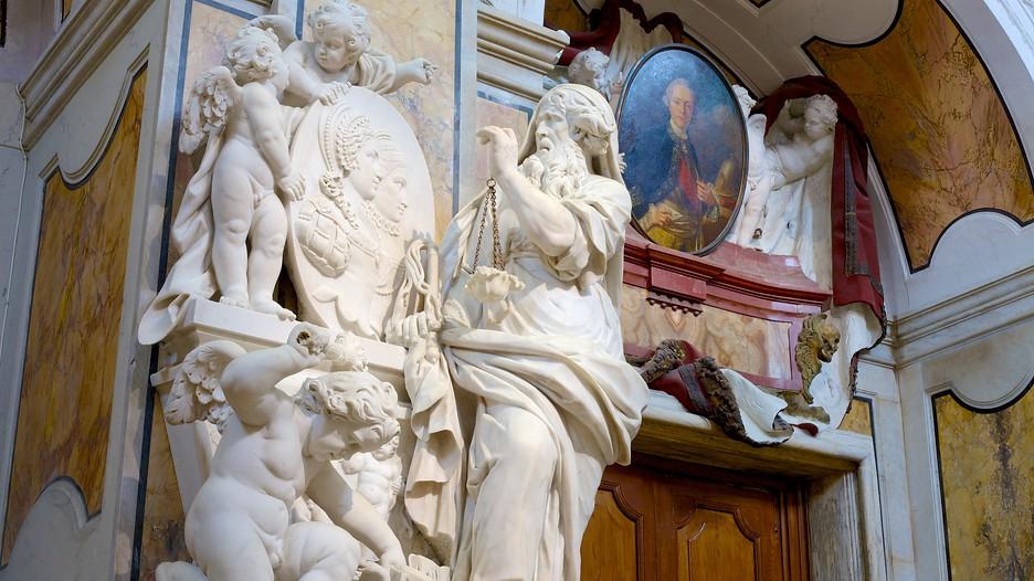 Il Cristo Velato - Cappella in dettaglio
