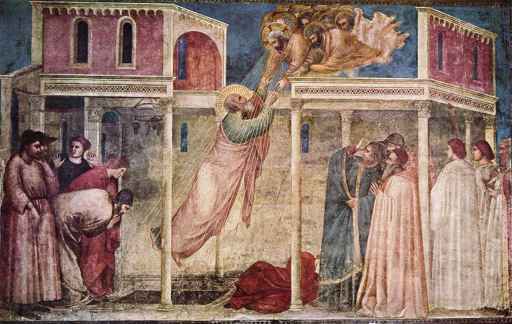 Sindrome di Stendhal - opera di Giotto
