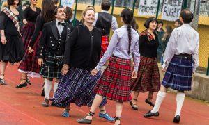 Il kilt - Esibizione In Kilt tra donne