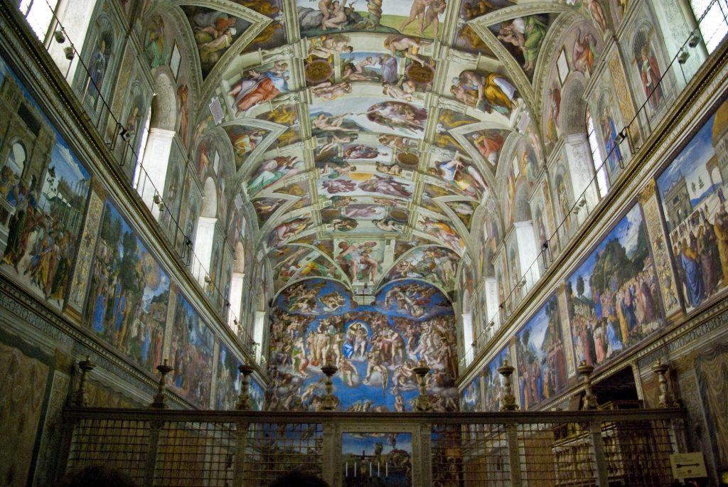 Giudizio Universale - opera di Michelangelo