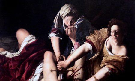 Artemisia Gentileschi - autoritratto in Giuditta