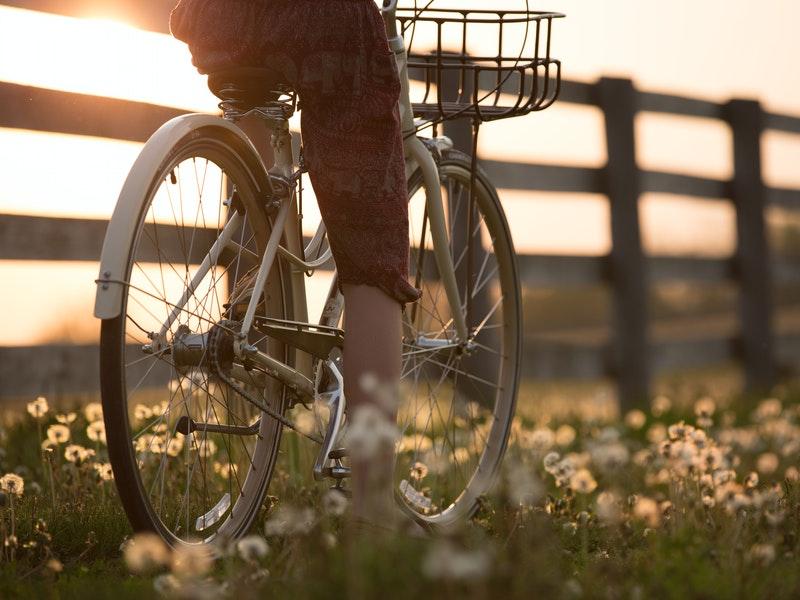 In bici a Richmond Park