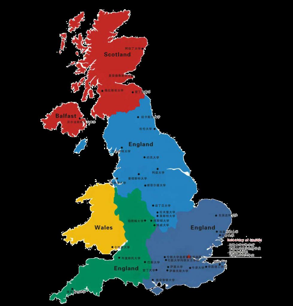 Studiare in Inghilterra - Gran Bretagna a colori
