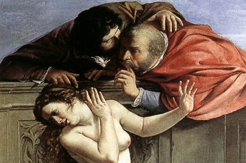Artemisia Gentileschi - Susanna E I Vecchioni della Gentileschi