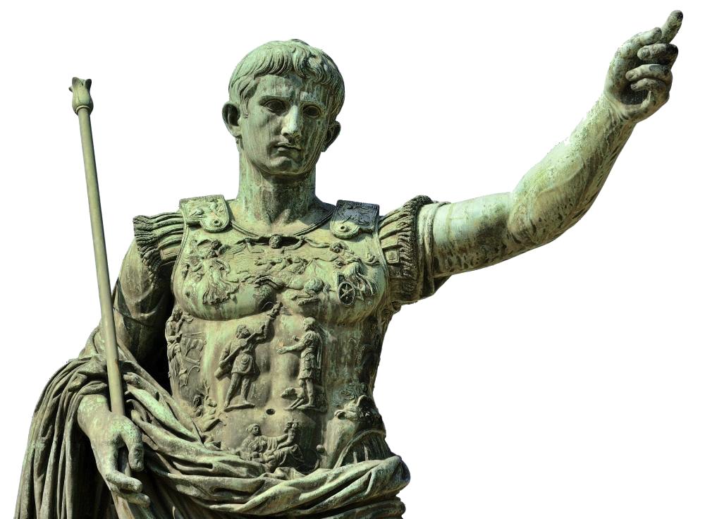 Imperatore - Ottaviano in una statua