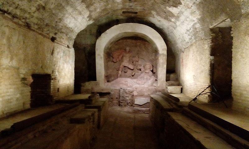Il mitreo di Londra - Santa Prisca Mithraeum a Roma