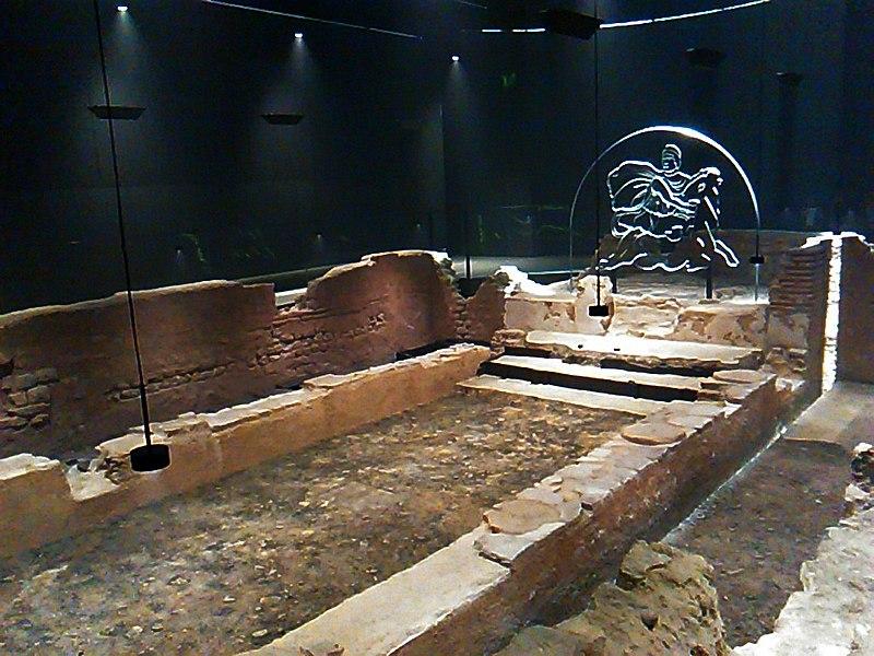 Il mitreo di Londra - Mitreo restaurato