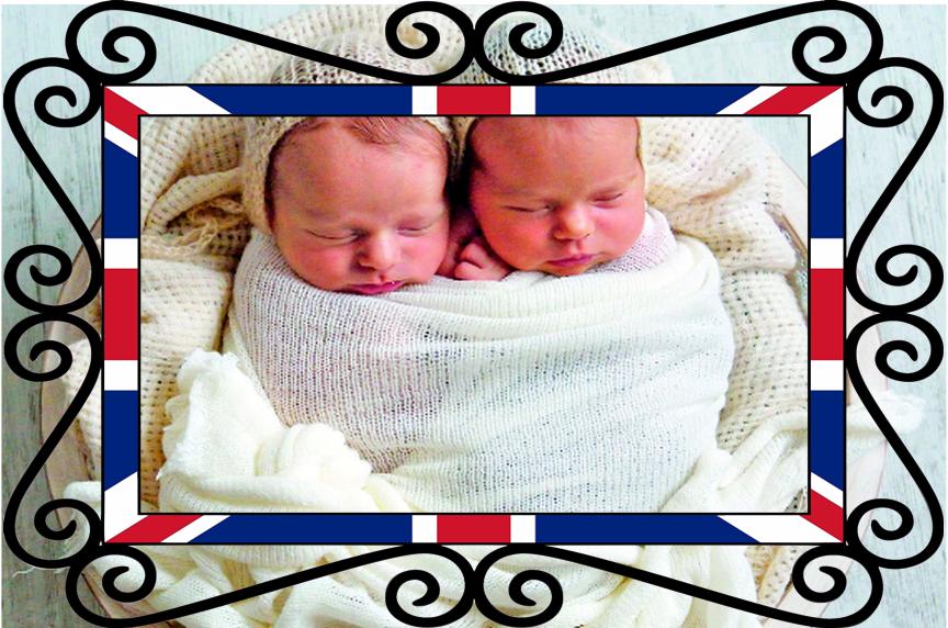 Crescere i figli in UK - Gemelli in foto