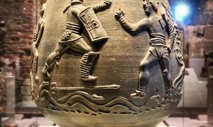 Colchester - Vaso romano funerario