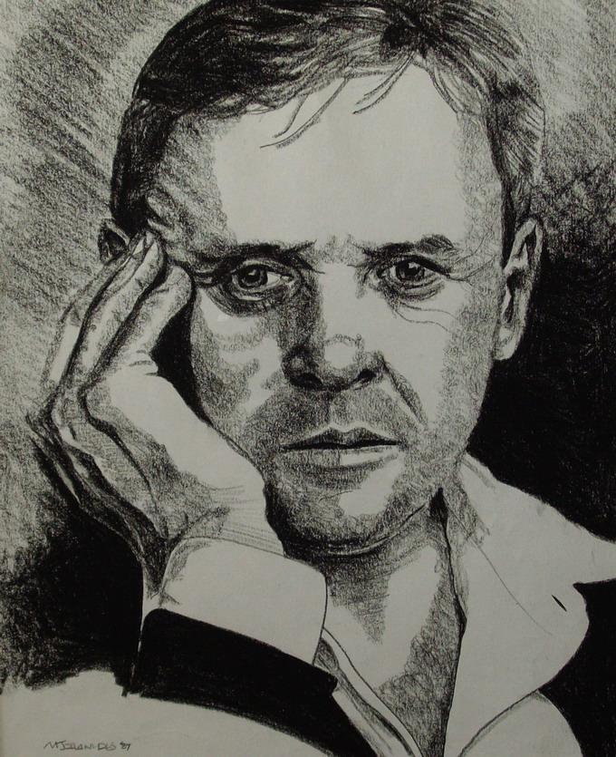 Anthony Hopkins Portrait