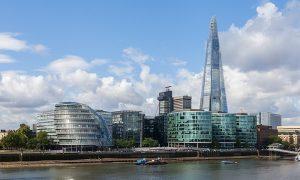 Londra italiana - Grattacielo Di Renzo Piano sullo sfondo