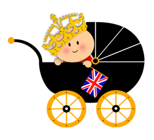 Royal baby in arrivo - Baby nella carrozzina
