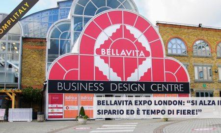 Bellavita Expo Londra - la facciata dell'evento