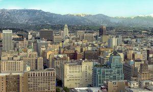 vista panoramica di Los Angeles